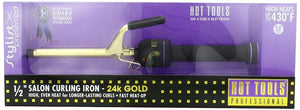 Hot Tools Curling Iron Spring Grip 1/2""