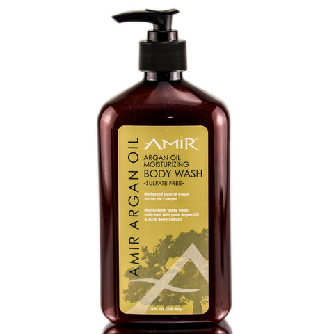 AMIR Argan Oil Moisturizing Body Wash
