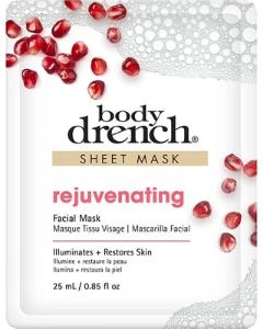 Body Drench Rejuvenating Sheet Facial Mask