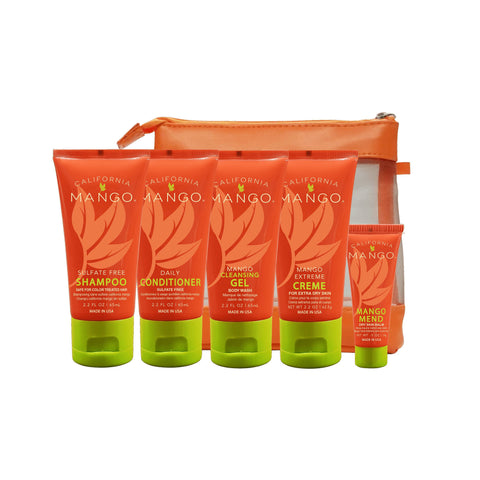 California Mango Hair & Skin Travel Kit