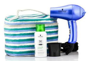 Schwarzkopf Mini Giant Tanzanite Hair Dryer/Dry Shampoo Kit