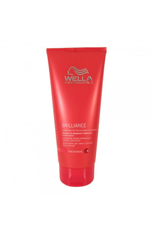 Wella Brilliance Conditioner Fine - Normal