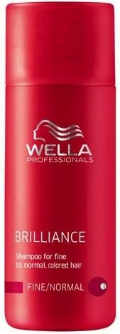 Wella Brilliance Fine - Normal Shampoo + Conditioner Mini Set