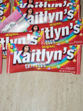 Skittles Bag Wrappers Only
