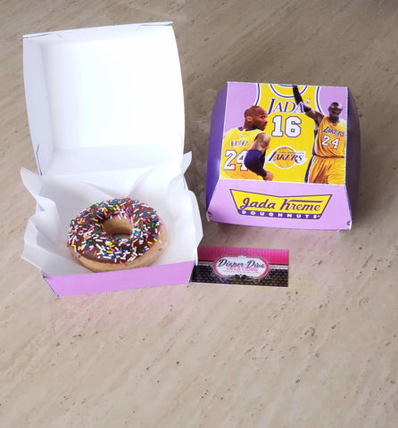 Donut Box Custom
