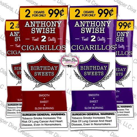 Custom Cigarillos Wraps