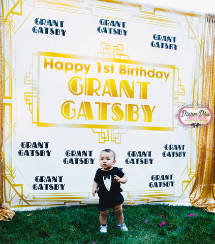 Gatsby Backdrop Print and Ship