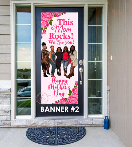 Mother's Day Front Door Banner