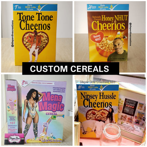 Custom Cereal Box