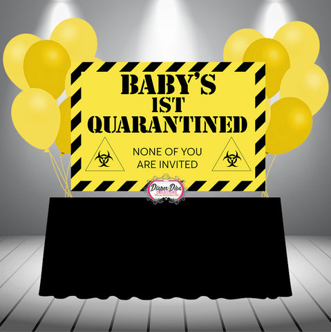 Baby's 1st Quarantine Banner Digital File Only