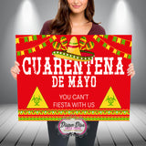 CUARENTENA DE MAYO Banner Digital File Only - Different Designs