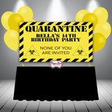 Quarantine Banner Digital File Only - Different Colors Available