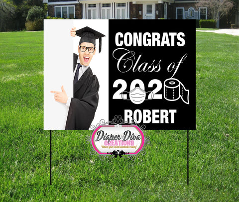 Congrats Yard Sign