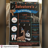 Custom Birthday Boards