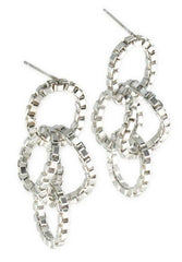 Large Linked Chain Earring