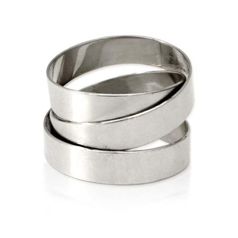 Sterling Silver Fettucini Ring (5mm)