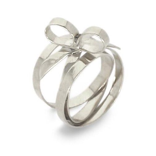 Sterling Silver Bow Ring Rings Kerri Parker Jewelry basics
