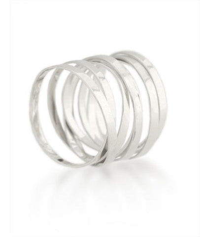 Sterling Silver Fettucini Ring (2mm)