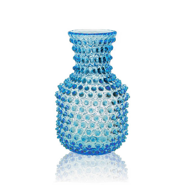 Glass Carafe in Azure Colour