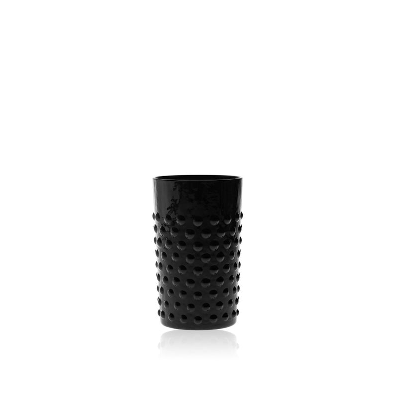 Black Hobnail Tumbler (set of 6 pieces)