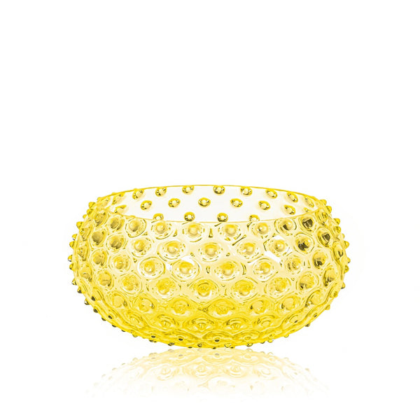 Citrine Hobnail Bowl by KLIMCHI