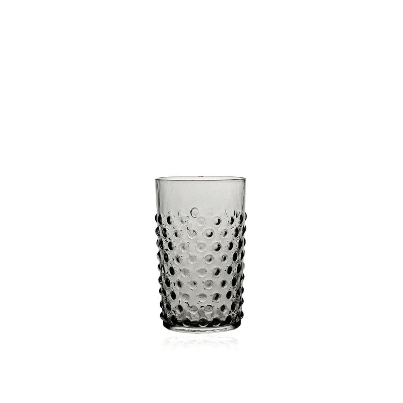 Grey Smoke Hobnail Tumbler by KLIMCHI