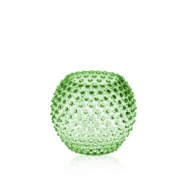 Light Green Hobnail Round Vase by KLIMCHI