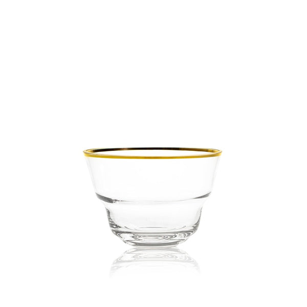 SHADOWS <br> GOLDEN LUX LINE <br> Medium Bowl