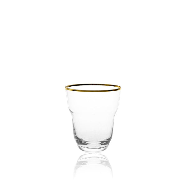 SHADOWS <br> GOLDEN LUX <br> High Ball Glass <br> (Set of 2)