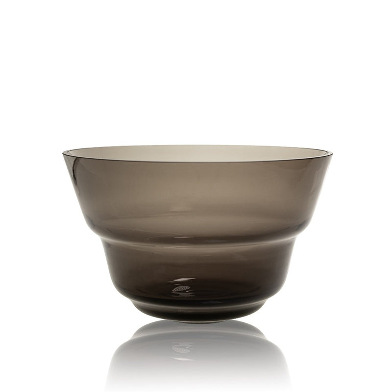 Large Midnight Grey Bowl from Shadows by KLIMCHI