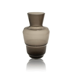 SHADOWS <br> Vase in Midnight Grey