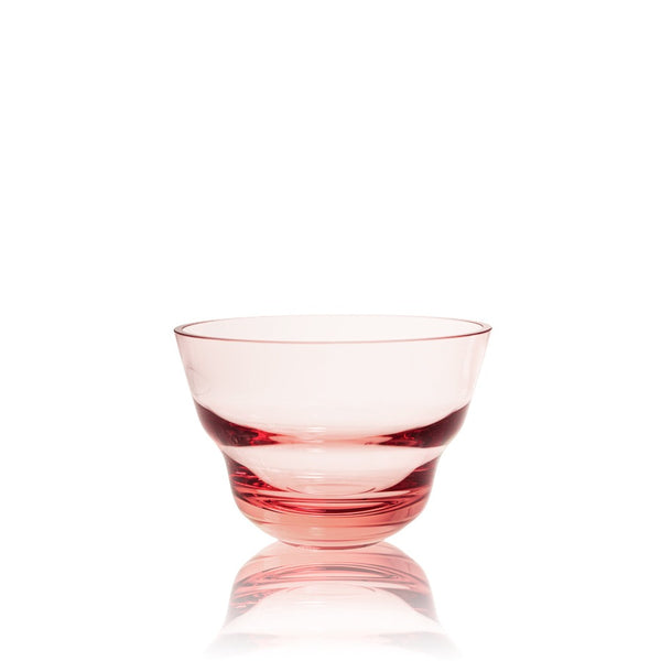 Suede Pink Medium Bowl from Shadows collection by KLIMCHI