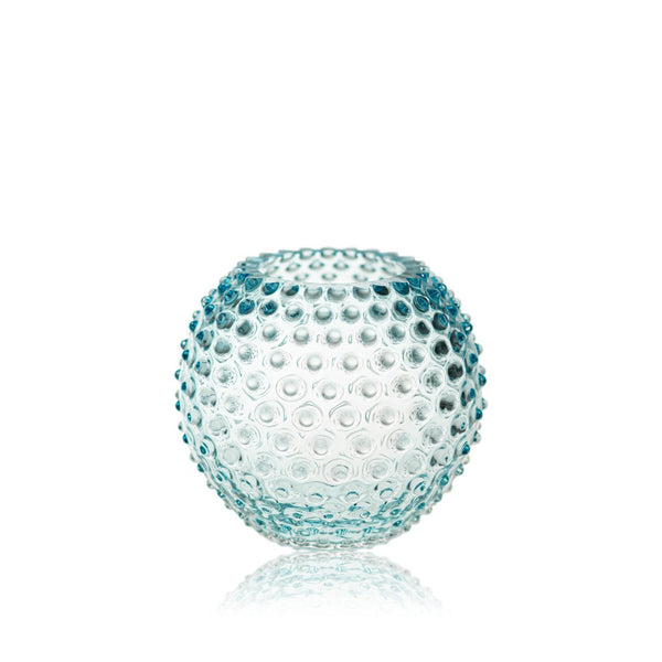 Glass Hobnail Round Vase by KLIMCHI