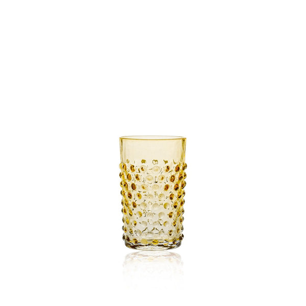 Underlay Amber Tumbler from Hobnail collection by KLIMCHI