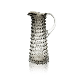 Underlay Black Smoke Hobnail Jug Tall