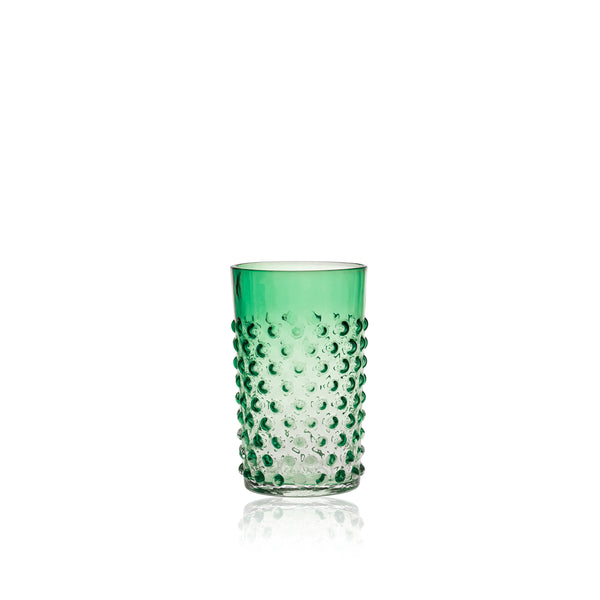 Underlay Green Hobnail Tumbler (set of 6 pieces)