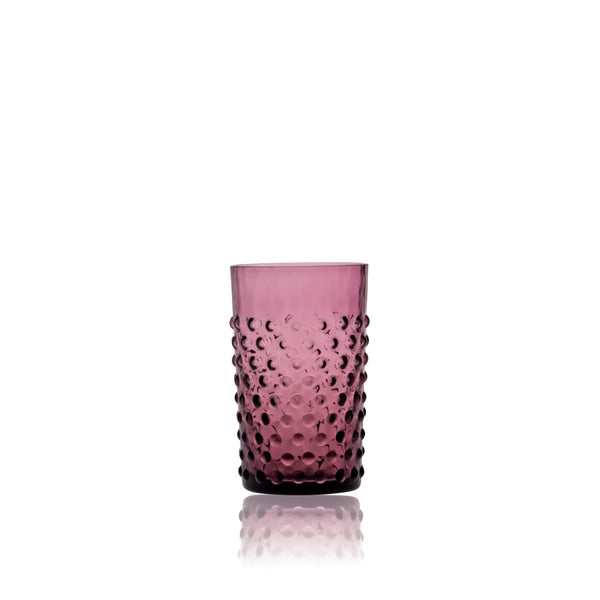Violet Hobnail Tumbler (set of 6 pieces)