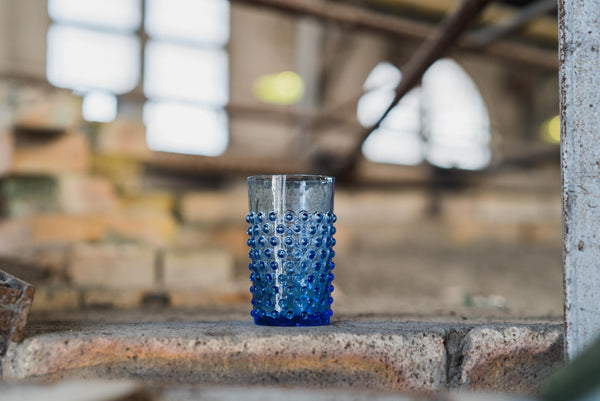 Light Blue Hobnail Tumbler (set of 6 pieces)