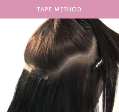 Tape Hair Extensions - Learn More About This Great Method