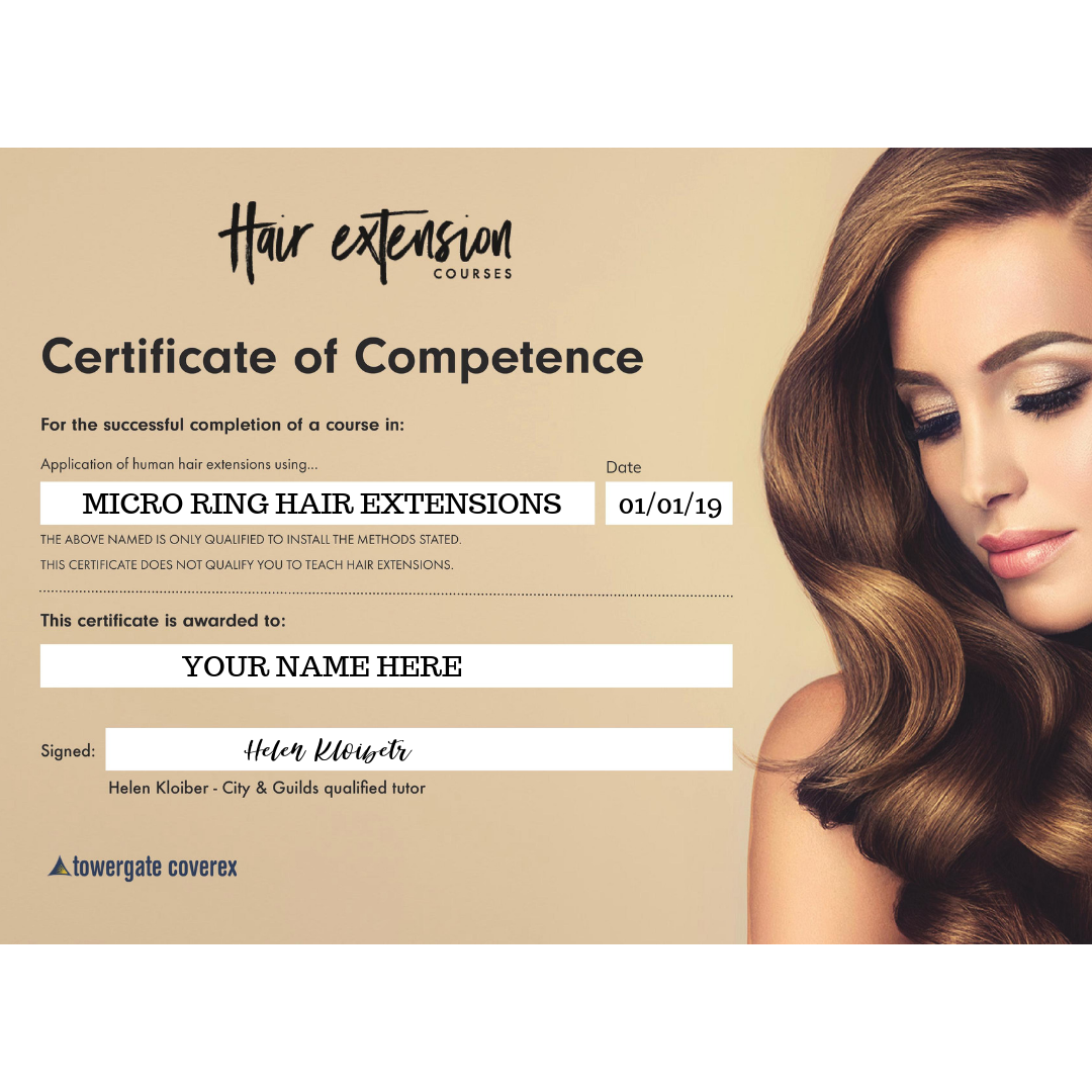 Micro Ring Hair Extensions Course (Australia)