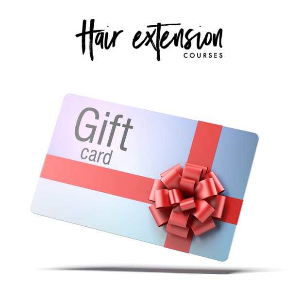 Hair Extension Courses Gift Card