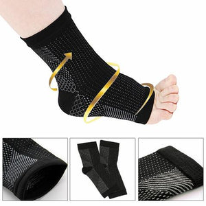 WALK-HERO™ Copper Infused Magnetic Foot Compression Support