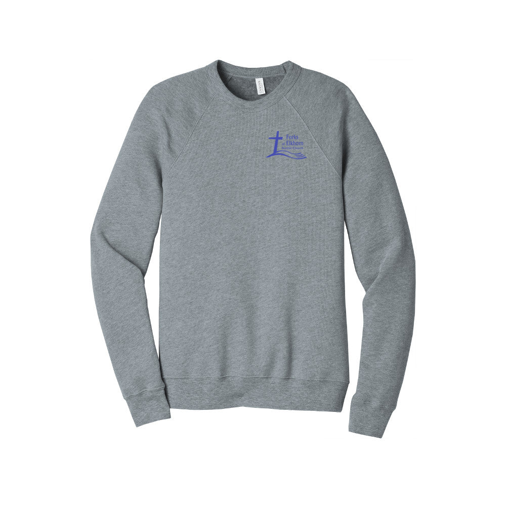 SALE & NEW COLOR! Forks Wear Sponge Fleece Crewneck Sweatshirt