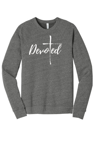 SALE! Devoted Crewneck Sweatshirt