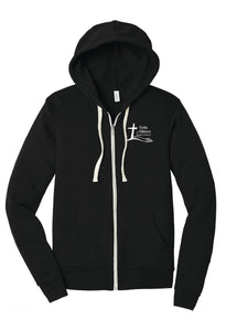 NEW! Forks Wear Full Zip Sponge Fleece Hooded Sweatshirt