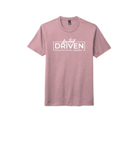 Devoted:  Driven  Tri-Blend Short Sleeve Tee