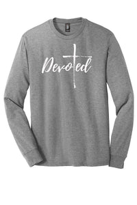 SALE! Devoted Tri-Blend Long Sleeve Tee