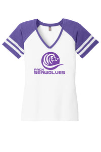 Swim PACK Ladies V-Neck Tee