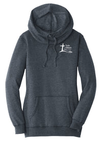 NEW! Forks Wear Ladies Cowl Neck Hoodie