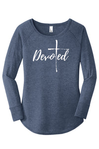 Devoted | The Power of One:  Ladies Long Sleeve Tunic